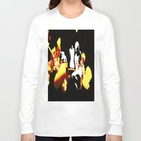orchid Long Sleeve T-shirts featuring Orchid by Angelica Gonzalez Donaire