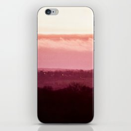 Sunset in Pink bywhacky iPhone Skin