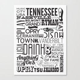 Nashville, Tennessee Canvas Print