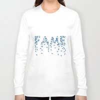 pills Long Sleeve T-shirts featuring Fame pills by Komrod