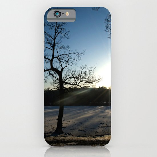 Snowy Sunset iPhone & iPod Case