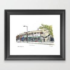 Silkstream Parade, Burnt Oak Framed Art Print