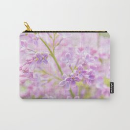 Lilac Flowers Mist Carry-All Pouch