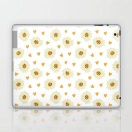 Fashion Lovely Flower Pattern Art Laptop & iPad Skin