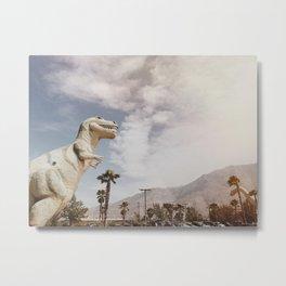 Pee Wee's Dinosaurs Metal Print