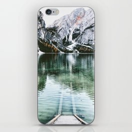 braies lake iPhone Skin