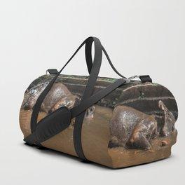 Happy elephant makes me happy Duffle Bag