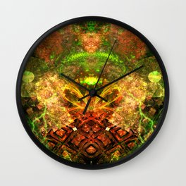 Extraterrestrial Palace 4 Wall Clock