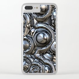 3D Reflections Clear iPhone Case