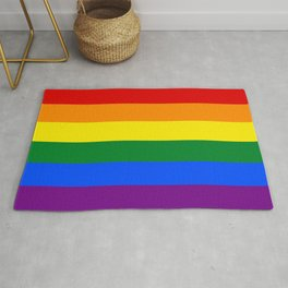 Pride Rainbow Colors Rug