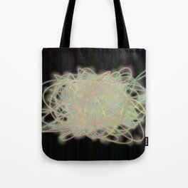 Electric Yarn Ball Tote Bag