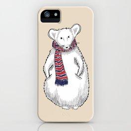 Autumn Mouse iPhone Case