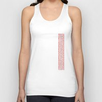 numbers Tank Tops featuring NUMBERS by Joel Danielsson