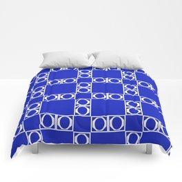 angle blue & yellow Comforters