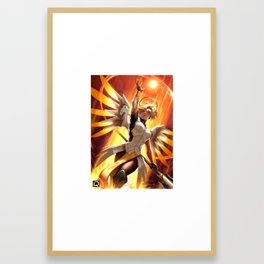 mercy watch Framed Art Print