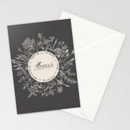 Dear Sassenach in Grey Stationery Cards