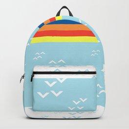 colorful design illustration Backpack
