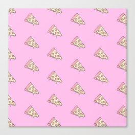 CHEESY PIZZA Canvas Print