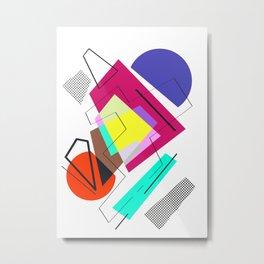 La Pagaille 01 Metal Print