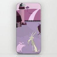 farm iPhone & iPod Skins featuring Farm by Andrew Formosa