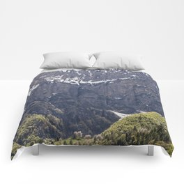 Dolomite Mountains Italy Comforters