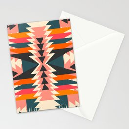 Colorful ethnic decoration Stationery Cards
