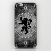 lannister iPhone & iPod Skins featuring House Lannister by Micheal Calcara