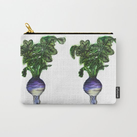 Rooted: The Rutabaga Carry-All Pouch