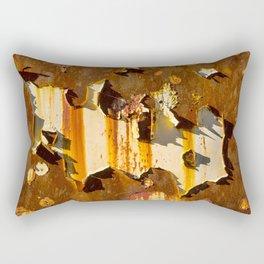Paint on rust Rectangular Pillow