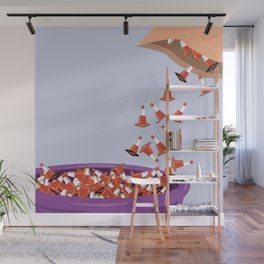 Candy Cones Wall Mural