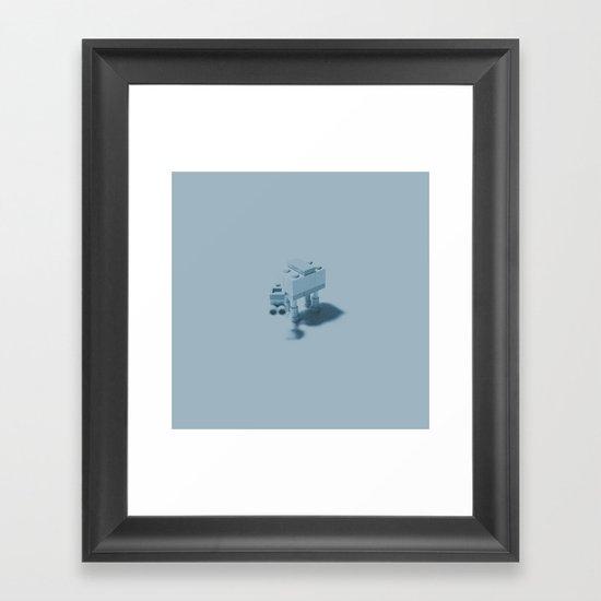 Hoth Framed Art Print