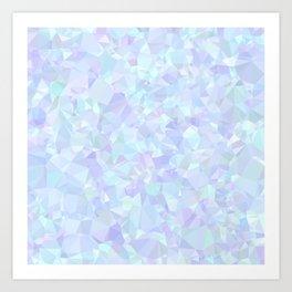 Icy Sparkles Art Print