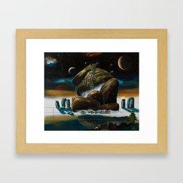 Huge rock packing 2 Framed Art Print