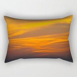 gold Rectangular Pillow
