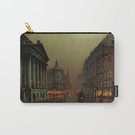 Mansion House, London, England Cityscape by Louis H. Grimshaw Carry-All Pouch