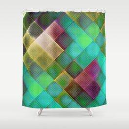 COLOURFUL HILLS III Shower Curtain