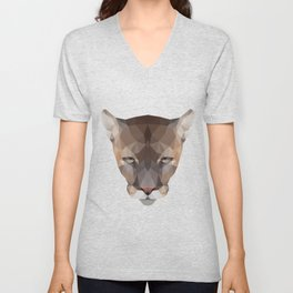 Polygon Puma Unisex V-Neck