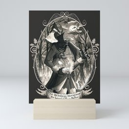 Portrait: Headless Horseman (Sleepy Hollow) Mini Art Print