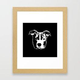 Pit Bull Terrier Framed Art Print