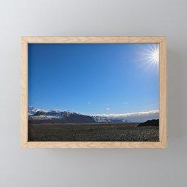 The Finery Ice and Sun Framed Mini Art Print