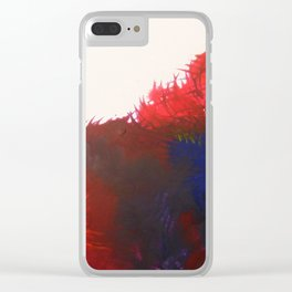 Rainbow Shiver Clear iPhone Case