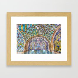 Karim Khani Nook of Golestan in Tehran, Iran Framed Art Print