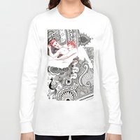 henna Long Sleeve T-shirts featuring Henna Lovers by N.I.S.