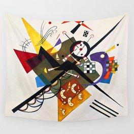 Kandinsky On White II Wall Tapestry