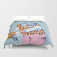 grafitti Duvet Covers featuring Breakin' and Enterin' by Alex Tonetti Photography
