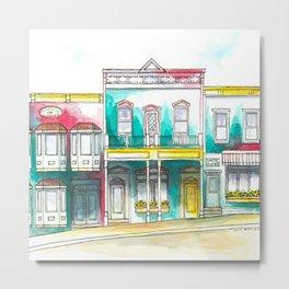 Southwestern watercolor painting Metal Print