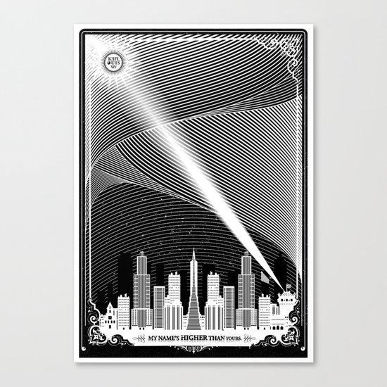 Superheroes SF Canvas Print