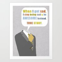 himym Art Prints featuring LEGEN____waitforit____DARY by Bianca Green