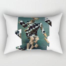 Collage Vintage Rectangular Pillow