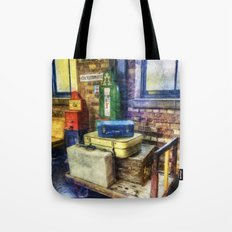 Luggage at the Station Tote Bag